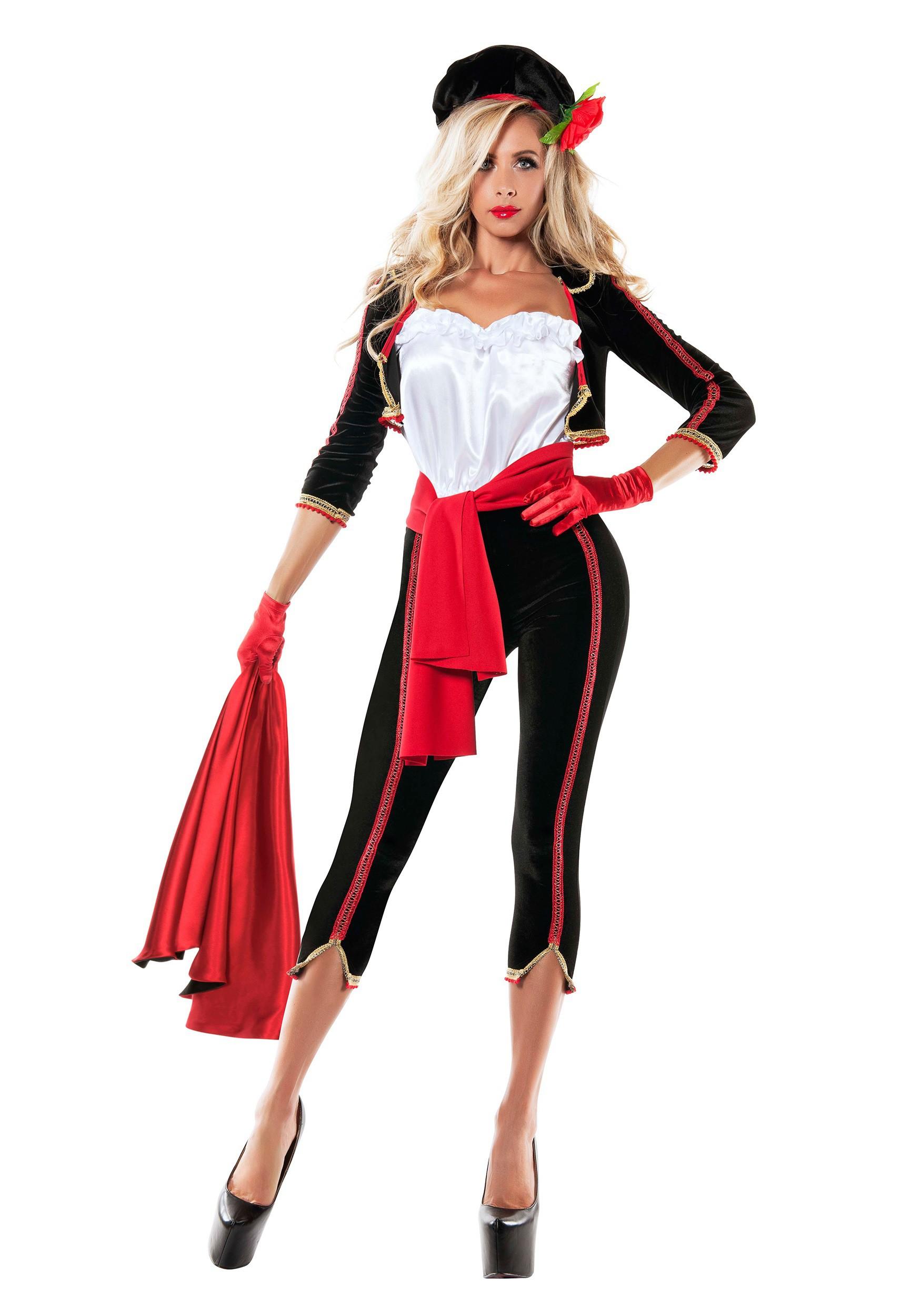 Womenu0027s Matador Costume  sc 1 st  Halloween Costumes & Spanish Matador u0026 Bull Costumes - HalloweenCostumes.com