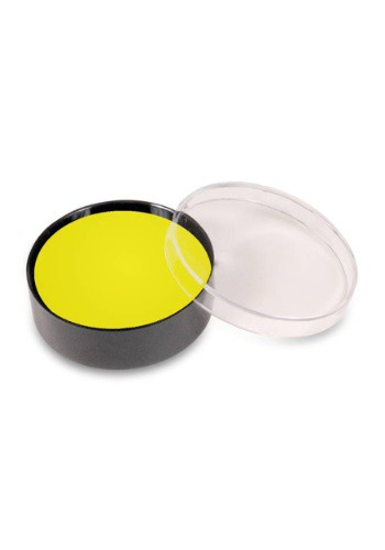 Yellow Color Cup Make-Up By: Mehron Inc for the 2015 Costume season.