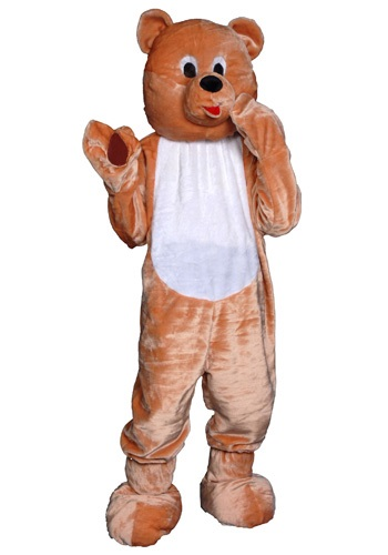 Click Here to buy Adult Teddy Bear Mascot Costume from HalloweenCostumes, CDN Funds