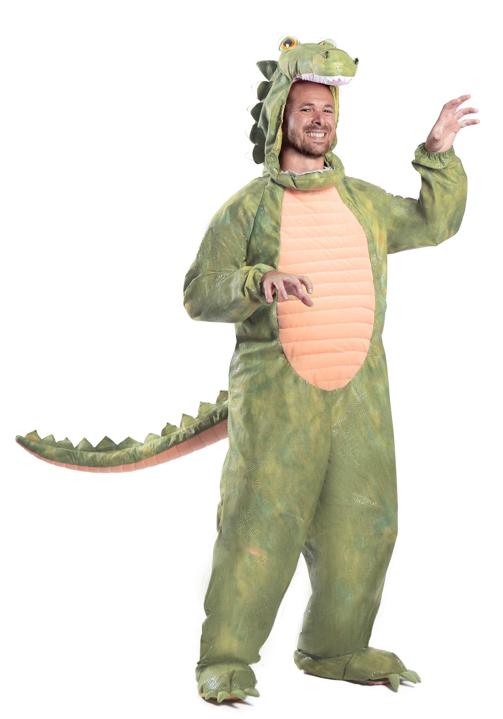 Plus Size Alligator Costume  sc 1 st  Halloween Costumes & Plus Size Alligator Costume 2X