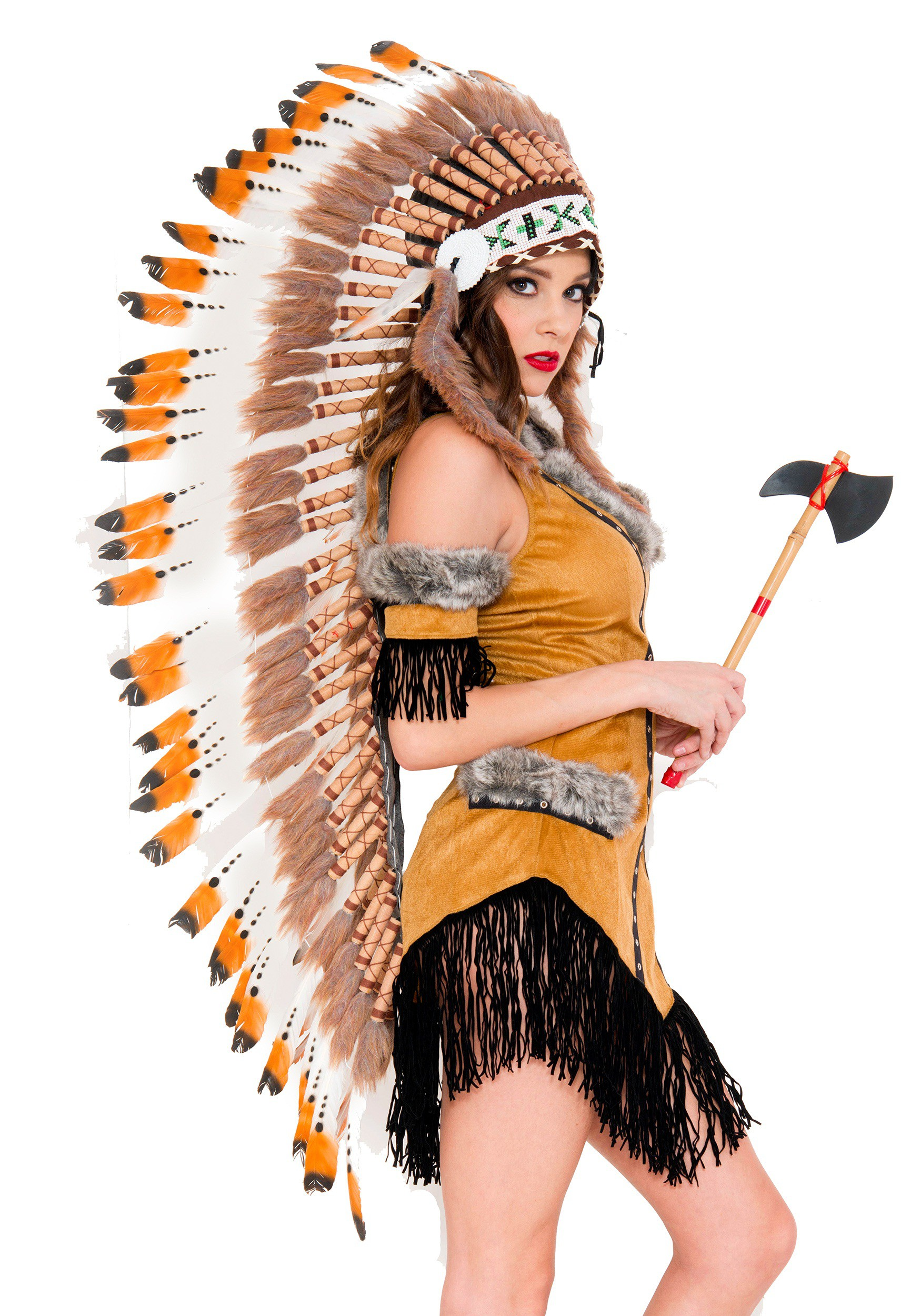 Native American Tribe Headdress-8586