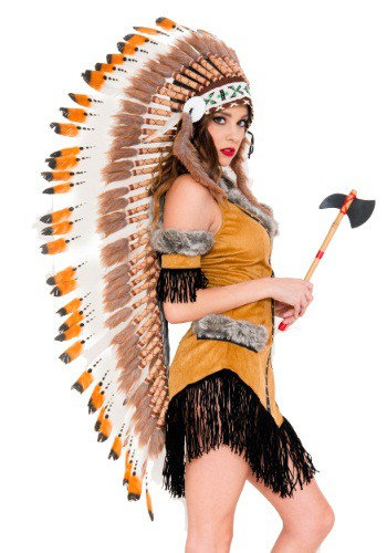 Click Here to buy Native American Tribe Headdress from HalloweenCostumes, CDN Funds