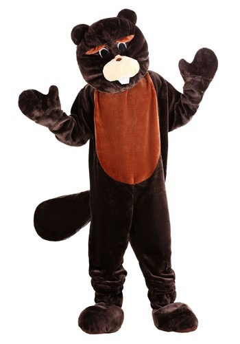 Beaver Mascot Costume By: Dress Up America for the 2015 Costume season.