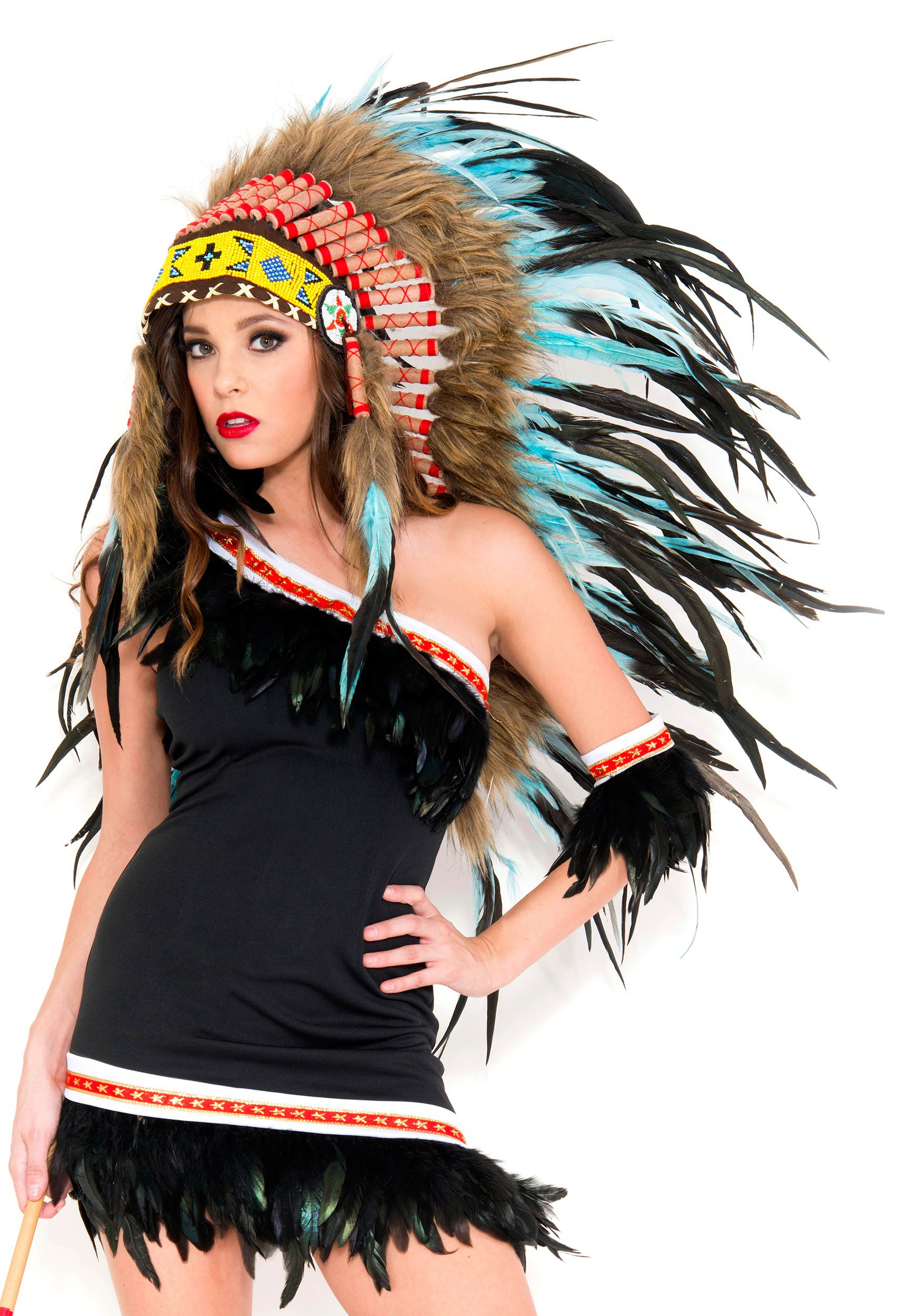 Turquoise Native American Headdress