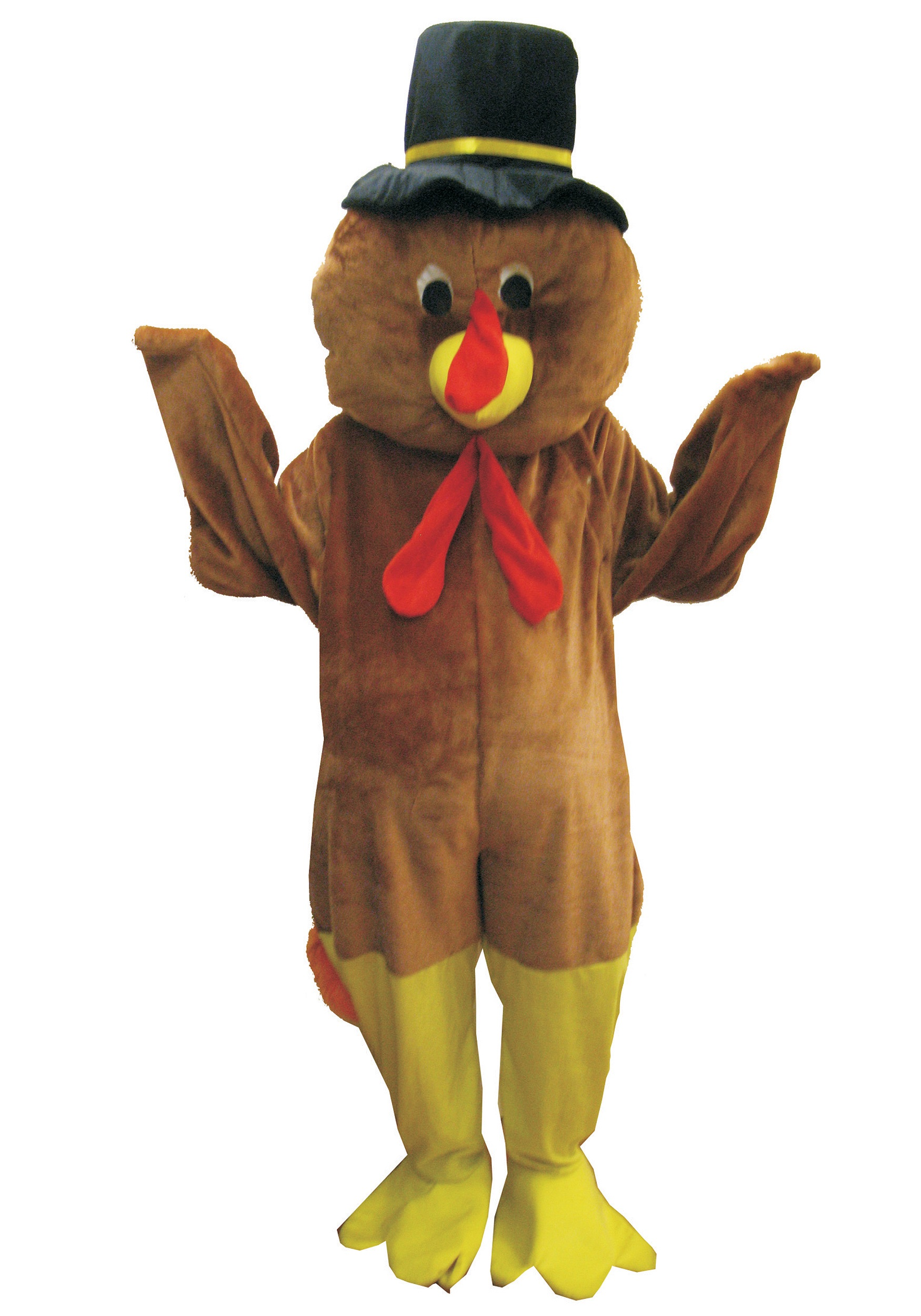 Mascot Thanksgiving Turkey Costume  sc 1 st  Halloween Costumes : make a turkey costume  - Germanpascual.Com