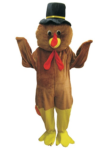 Click Here to buy Mascot Thanksgiving Turkey Costume from HalloweenCostumes, CDN Funds