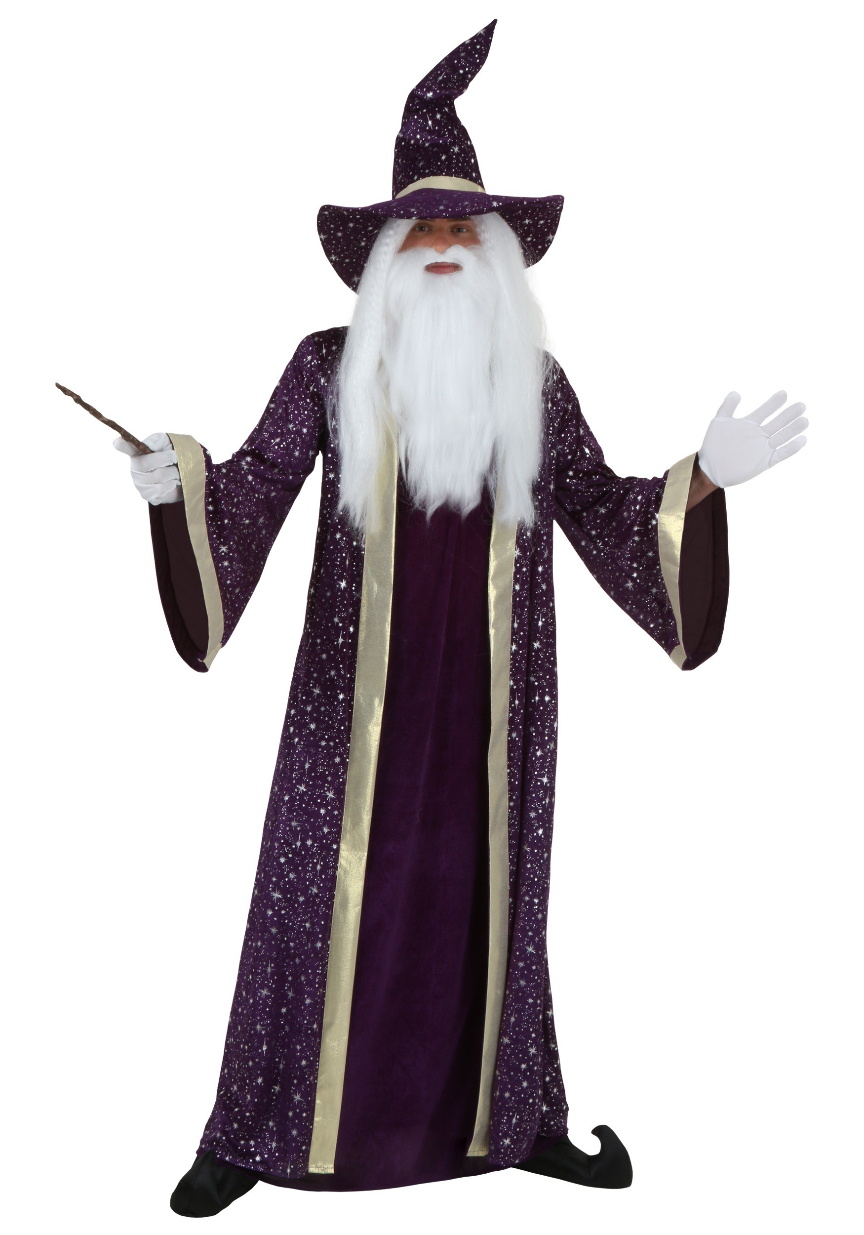 3a11808f8f2 Adult Plus Size Wizard Costume