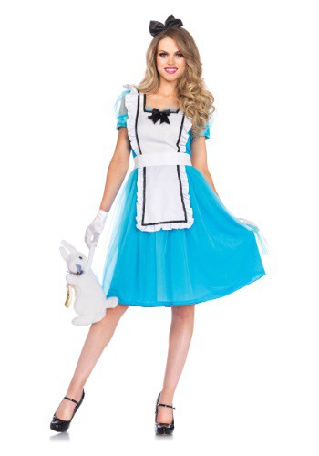 Click Here to buy Womens Classic Alice Tea Length Costume from HalloweenCostumes, USA Funds & Shipping