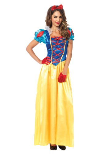 Click Here to buy Classic Snow White Womens Costume from HalloweenCostumes, CDN Funds