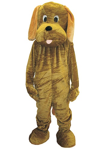 Click Here to buy Mascot Puppy Dog Costume from HalloweenCostumes, USA Funds & Shipping