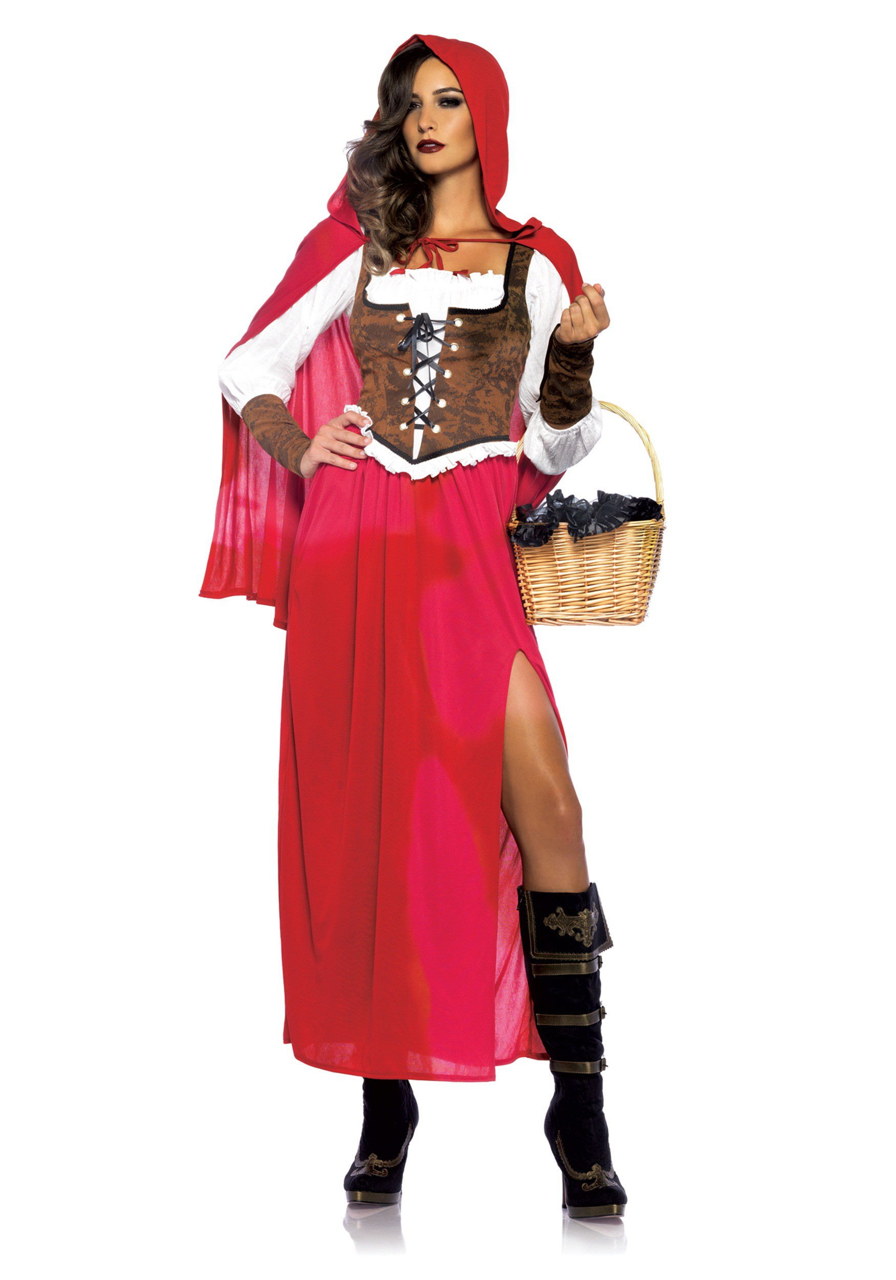 Womens Woodland Red Riding Hood Costume  sc 1 st  Halloween Costumes & Little Red Riding Hood Costumes - HalloweenCostumes.com