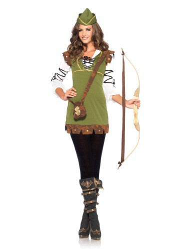 Women's Classic Robin Hood Costume By: Leg Avenue for the 2015 Costume season.