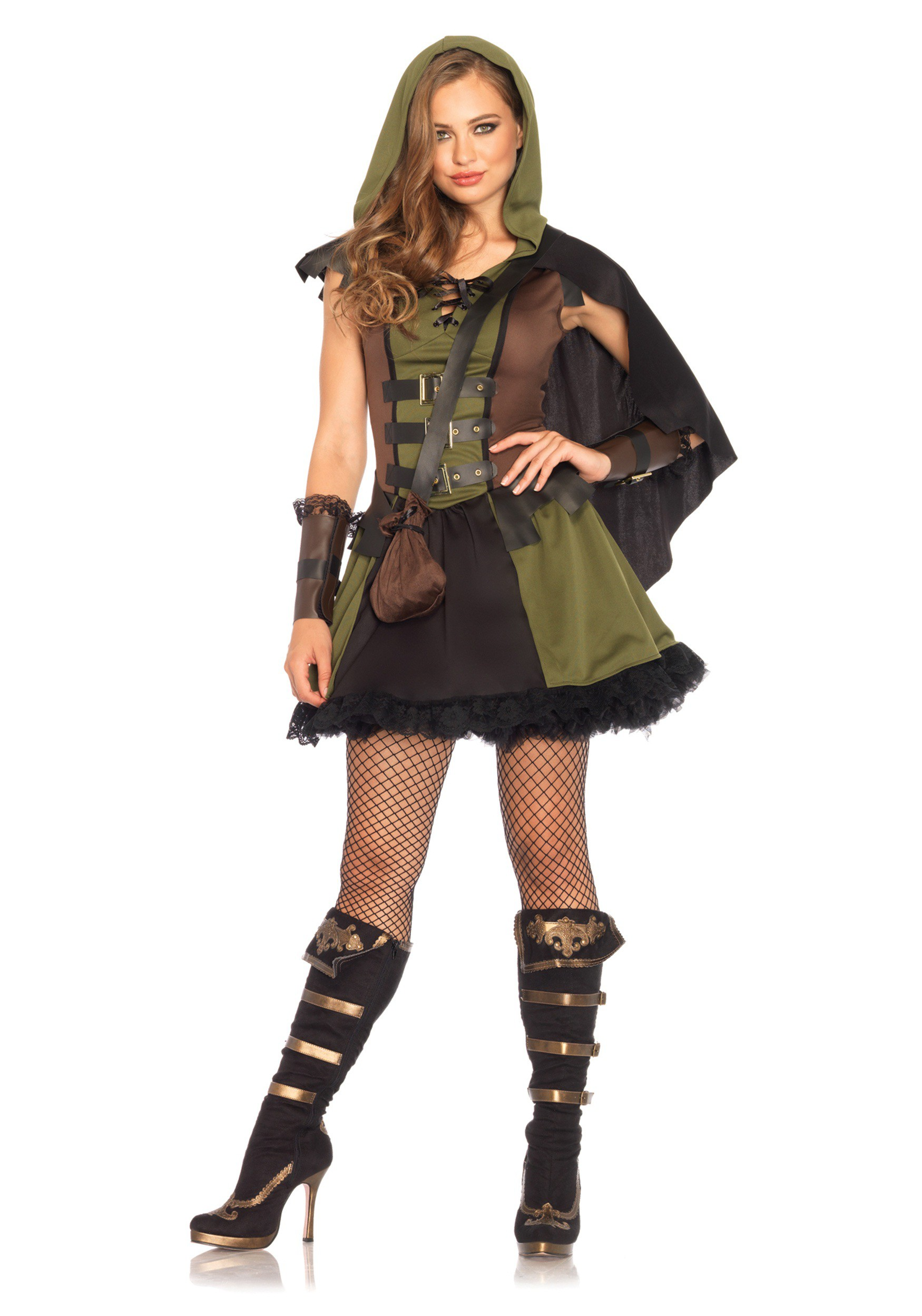 women 39 s darling robin hood costume. Black Bedroom Furniture Sets. Home Design Ideas