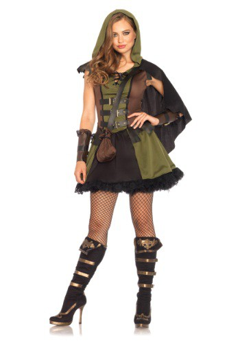 Click Here to buy Womens Darling Robin Hood Costume from HalloweenCostumes, USA Funds & Shipping