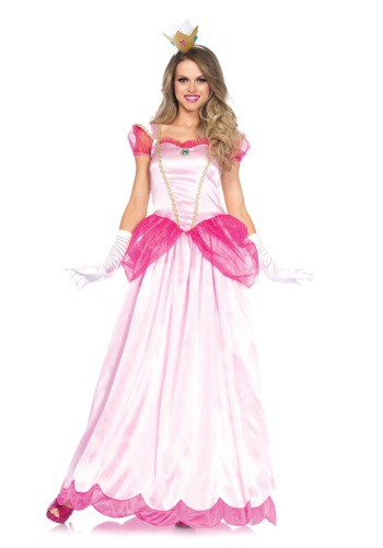 Click Here to buy Womens Classic Pink Princess Costume from HalloweenCostumes, CDN Funds