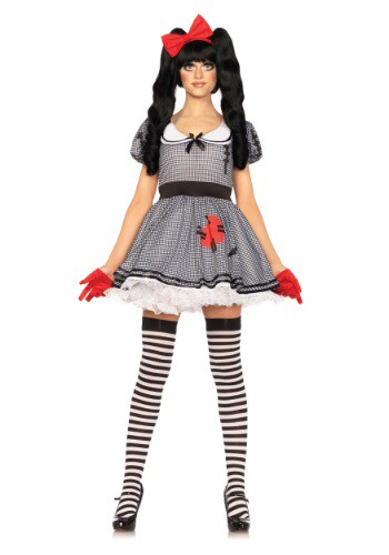 Womens Wind Me Up Dolly Costume