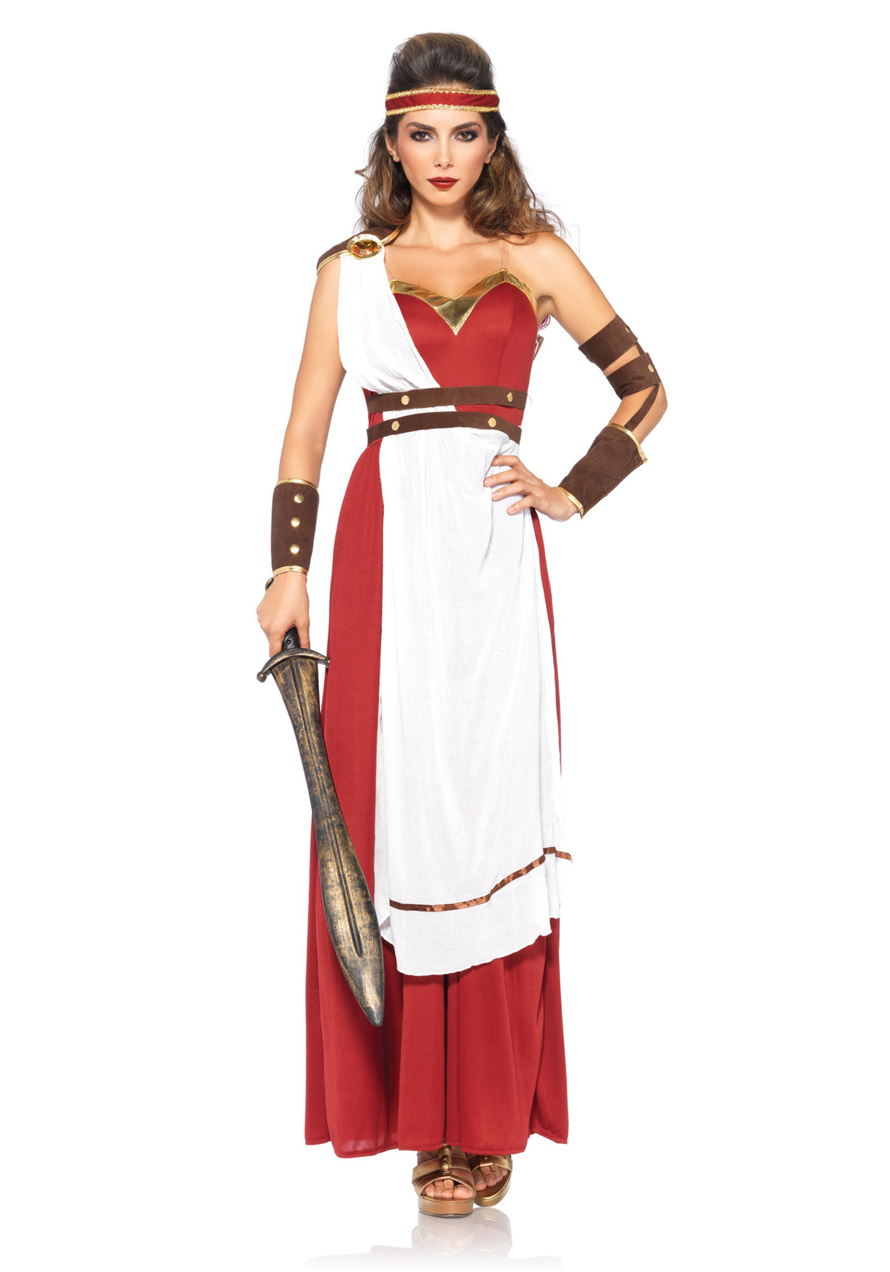 sc 1 st  Halloween Costumes & Spartan Goddess Costume