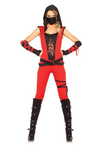 Women's Ninja Assassin Costume