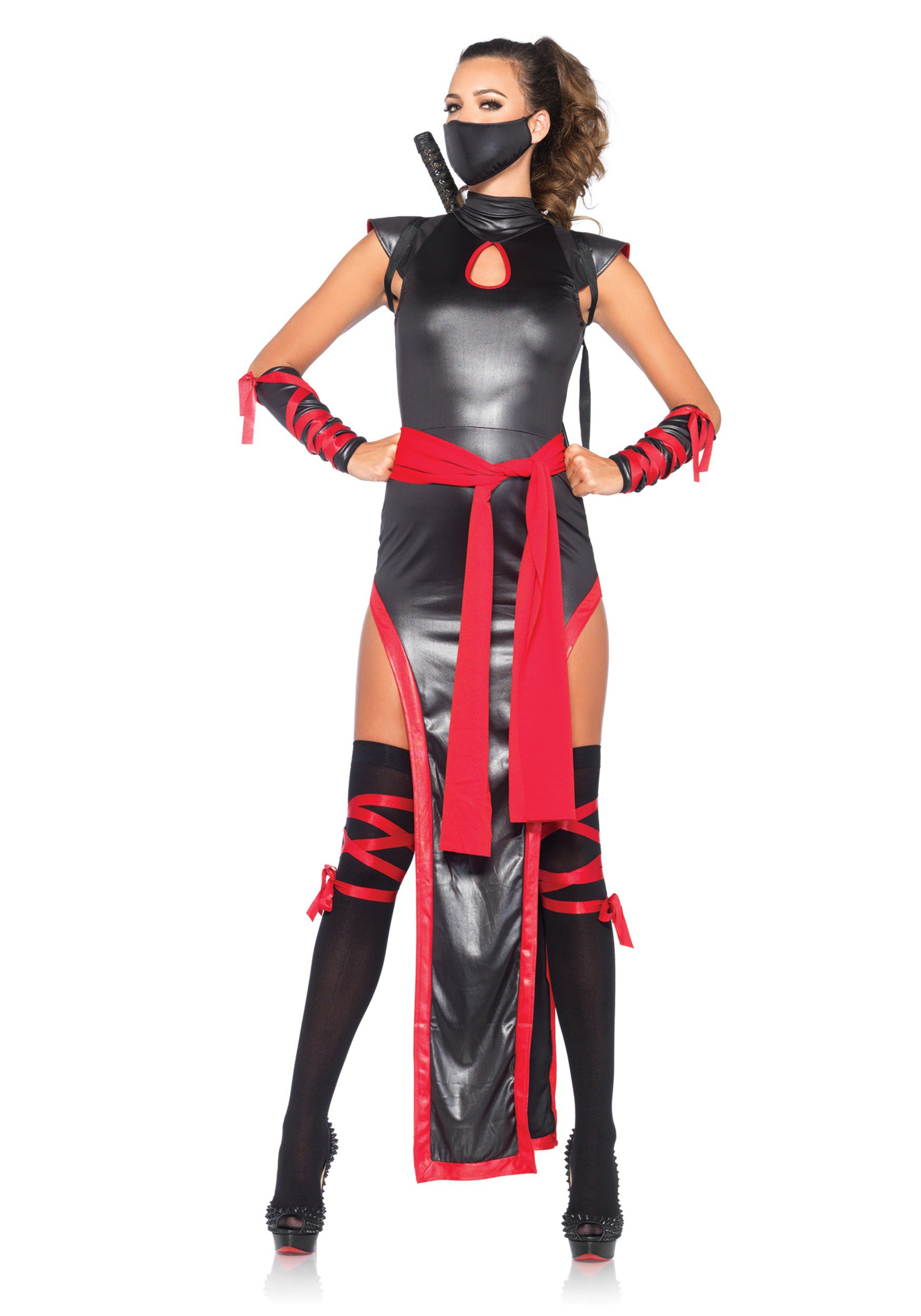 women 39 s shadow ninja costume. Black Bedroom Furniture Sets. Home Design Ideas