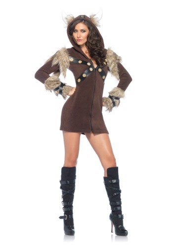 Women's Cozy Viking Costume By: Leg Avenue for the 2015 Costume season.