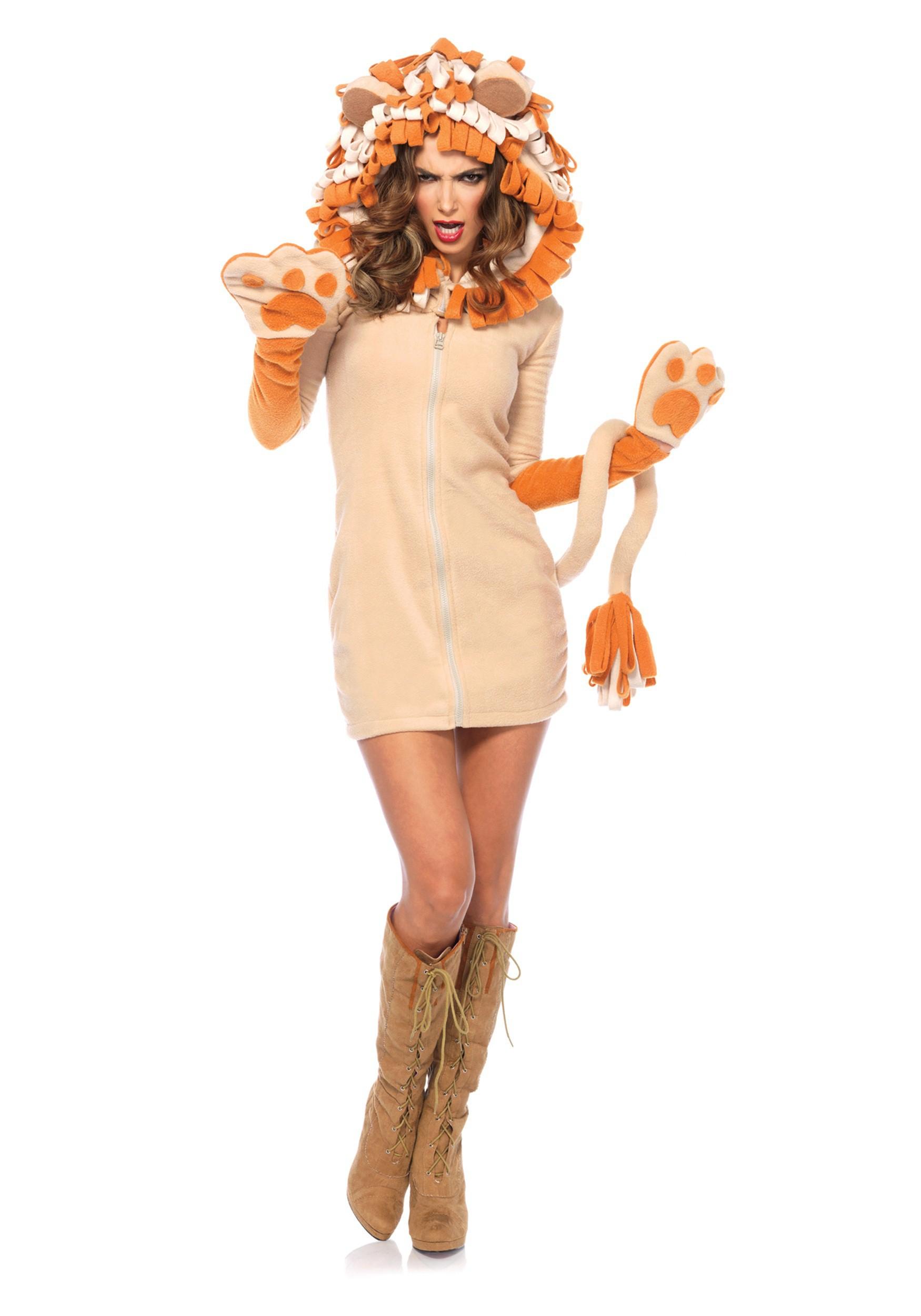 sc 1 st  Halloween Costumes & Womenu0027s Cozy Lion Costume