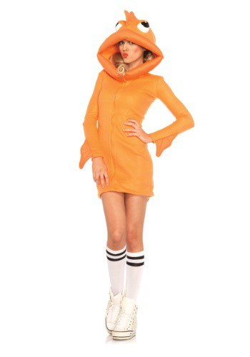 Women's Cozy Goldfish Costume By: Leg Avenue for the 2015 Costume season.