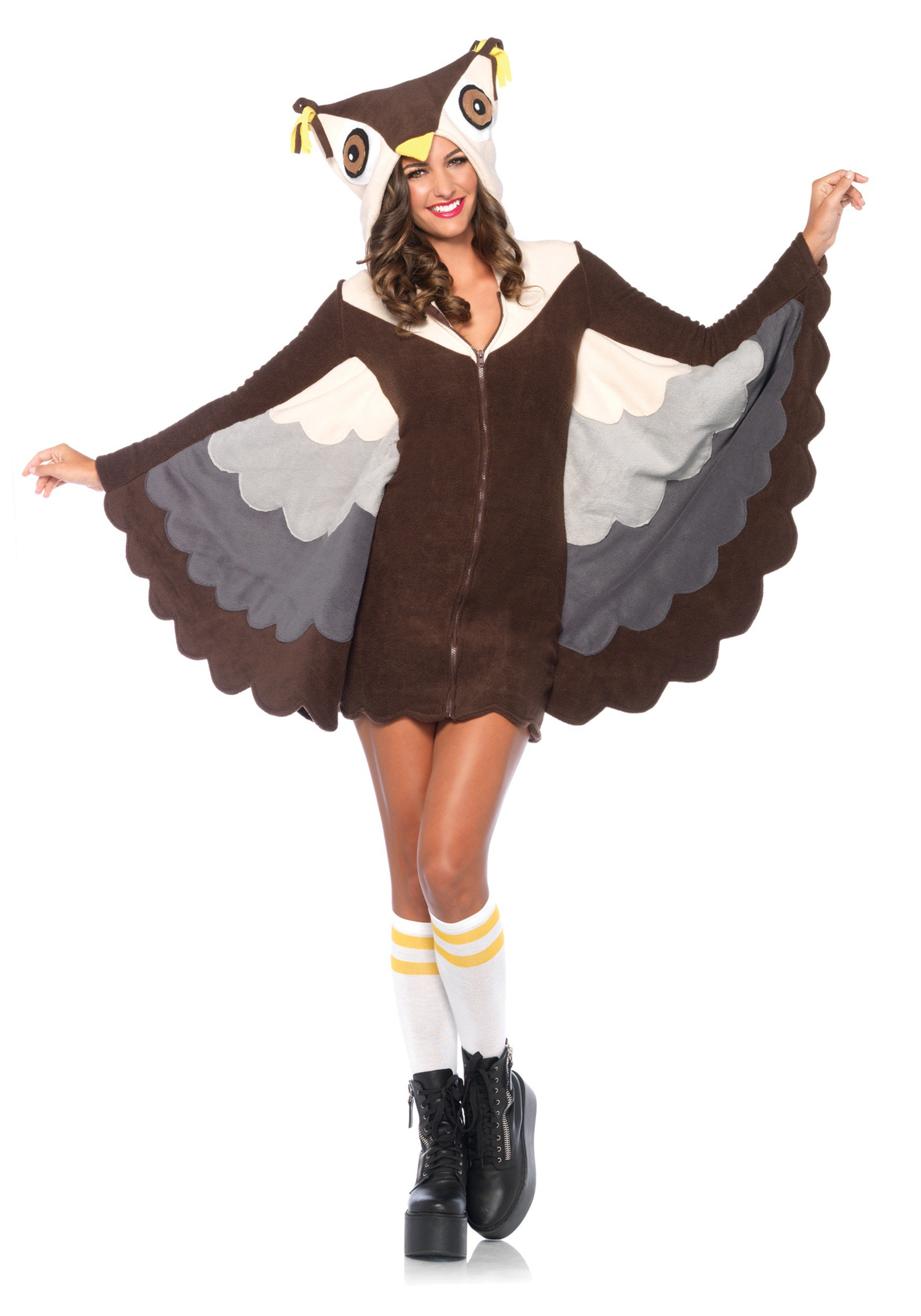 Cozy owl costume for Diy halloween costumes for adult women