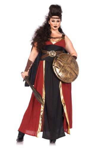 Plus Size Regal Warrior Costume for Women