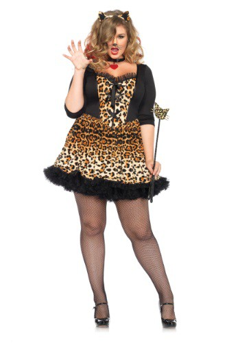Plus Size Wildcat Costume By: Leg Avenue for the 2015 Costume season.