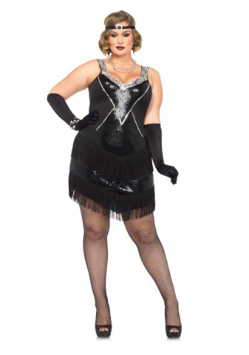 Plus Size Glamour Flapper Costume By: Leg Avenue for the 2015 Costume season.