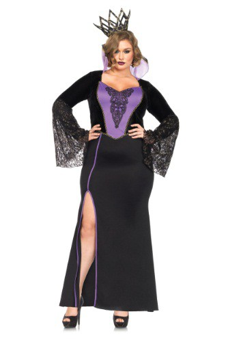 Click Here to buy Plus Size Evil Queen Costume 1X/2X 3X/4X from HalloweenCostumes, CDN Funds