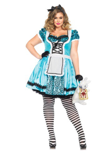 Plus Size Looking Glass Alice Costume By: Leg Avenue for the 2015 Costume season.