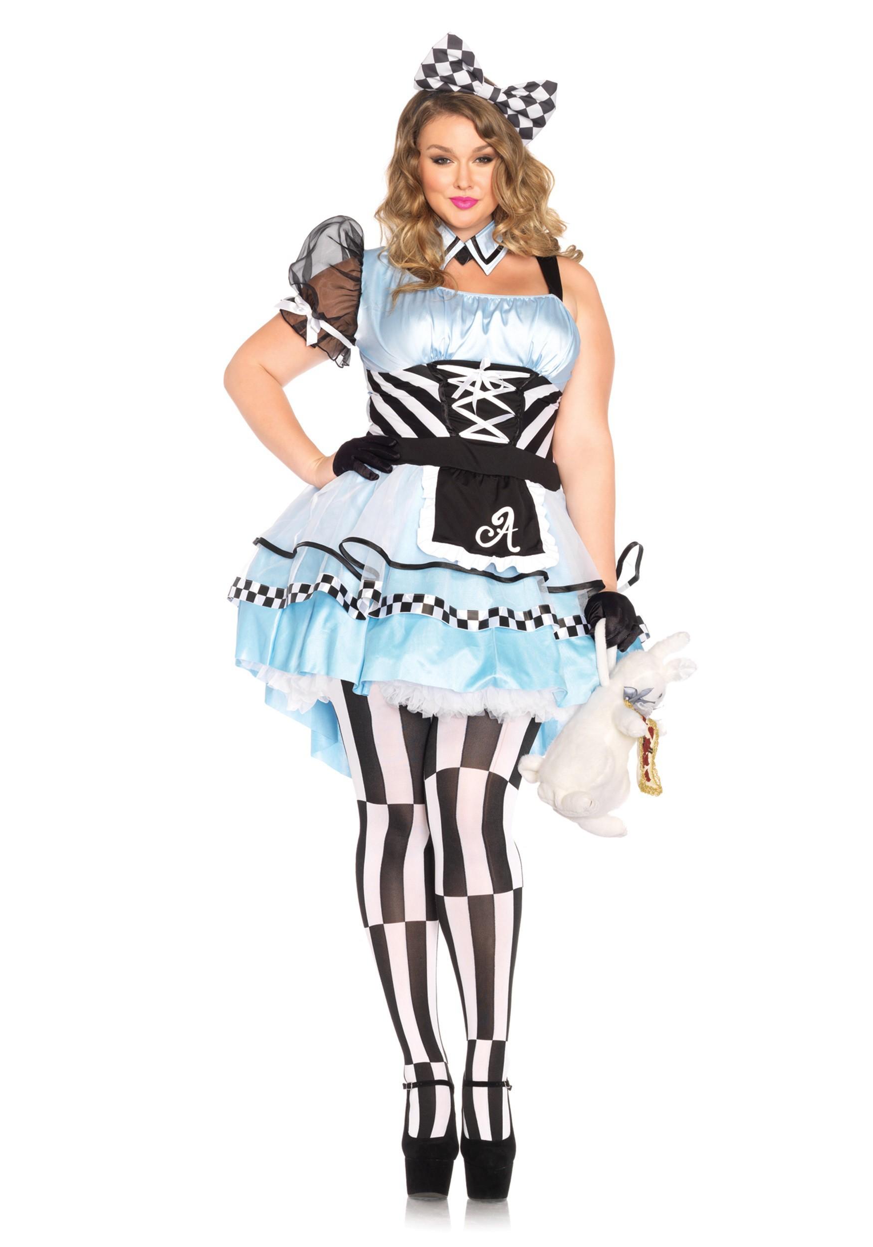 Alice in wonderland halloween costume women-7498
