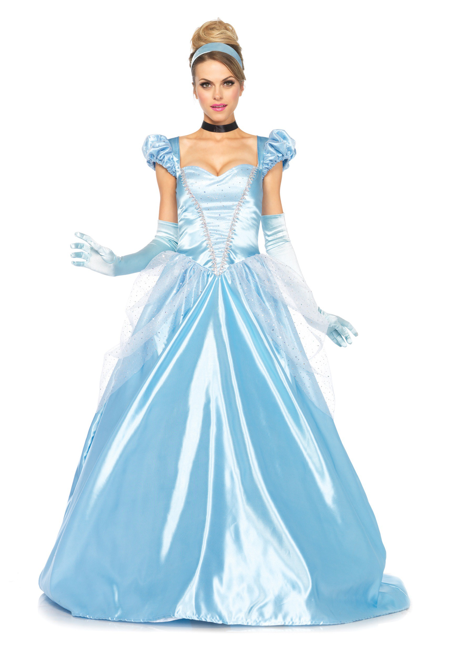 Cinderella Costume: Classic Full Length Gown for Women