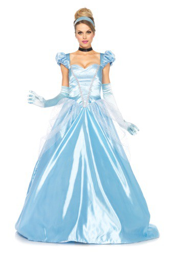 Classic Cinderella Full Length Gown By: Leg Avenue for the 2015 Costume season.