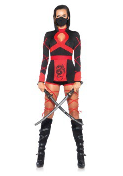 Womens Dragon Ninja Costume