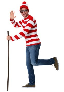 Adult Deluxe Where's Waldo Costume