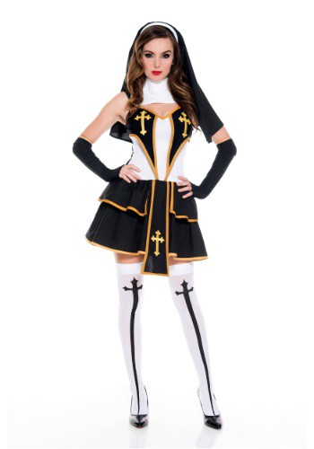 Women's Flirty Nun Costume