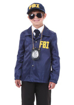 Child FBI Costume