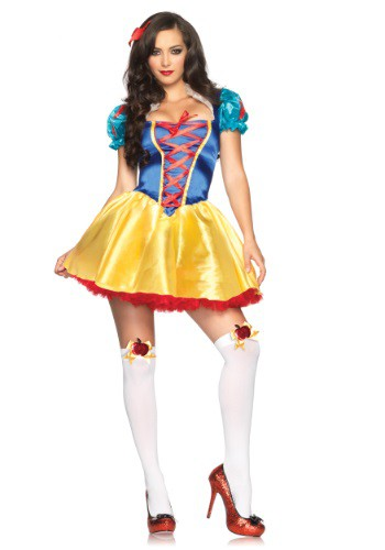Click Here to buy Fairytale Snow White Costume from HalloweenCostumes, USA Funds & Shipping