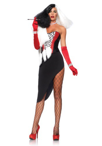 Click Here to buy Cruel Diva Costume from HalloweenCostumes, USA Funds & Shipping