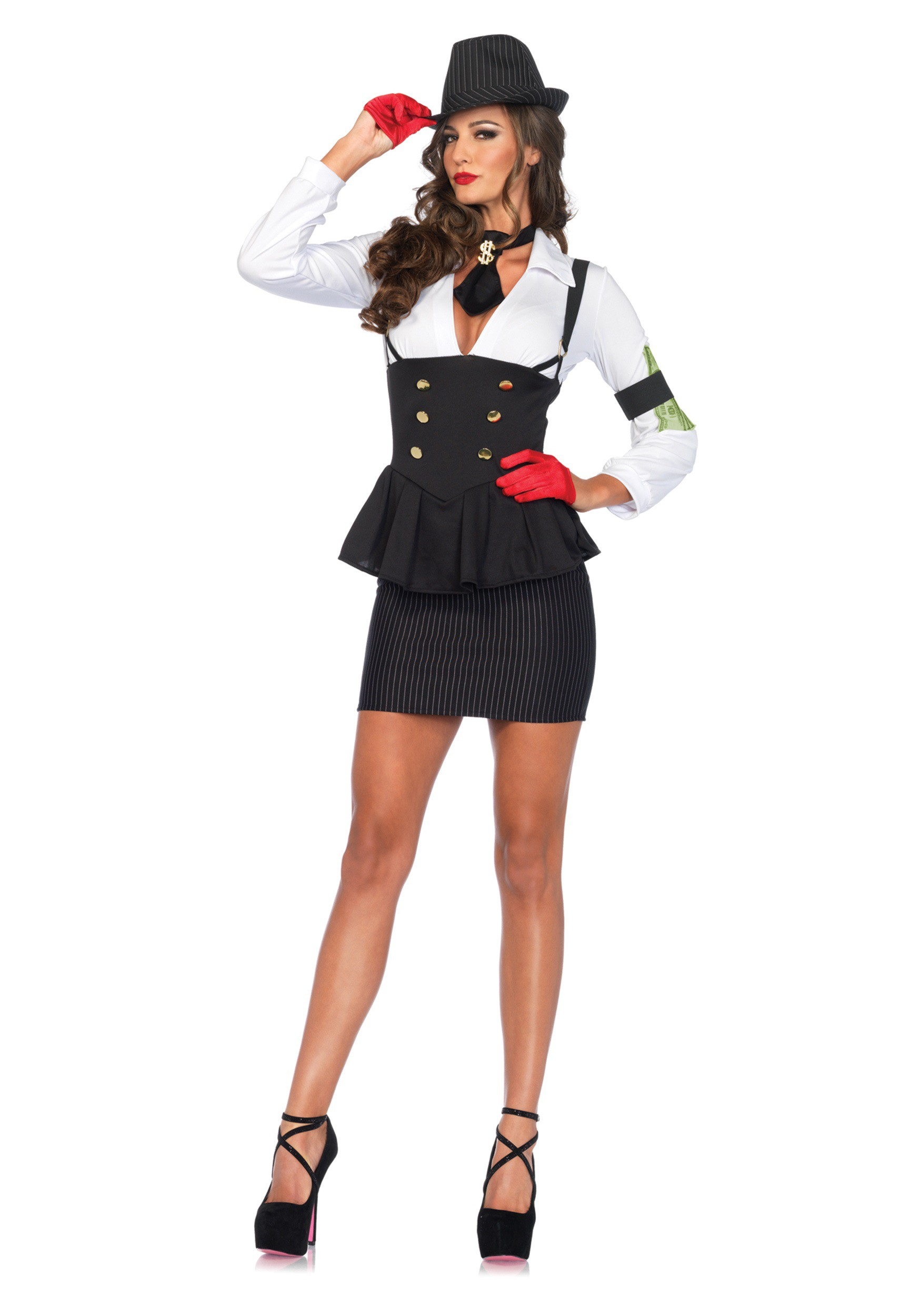 machine gun molly costume - Halloween Mobster Costumes