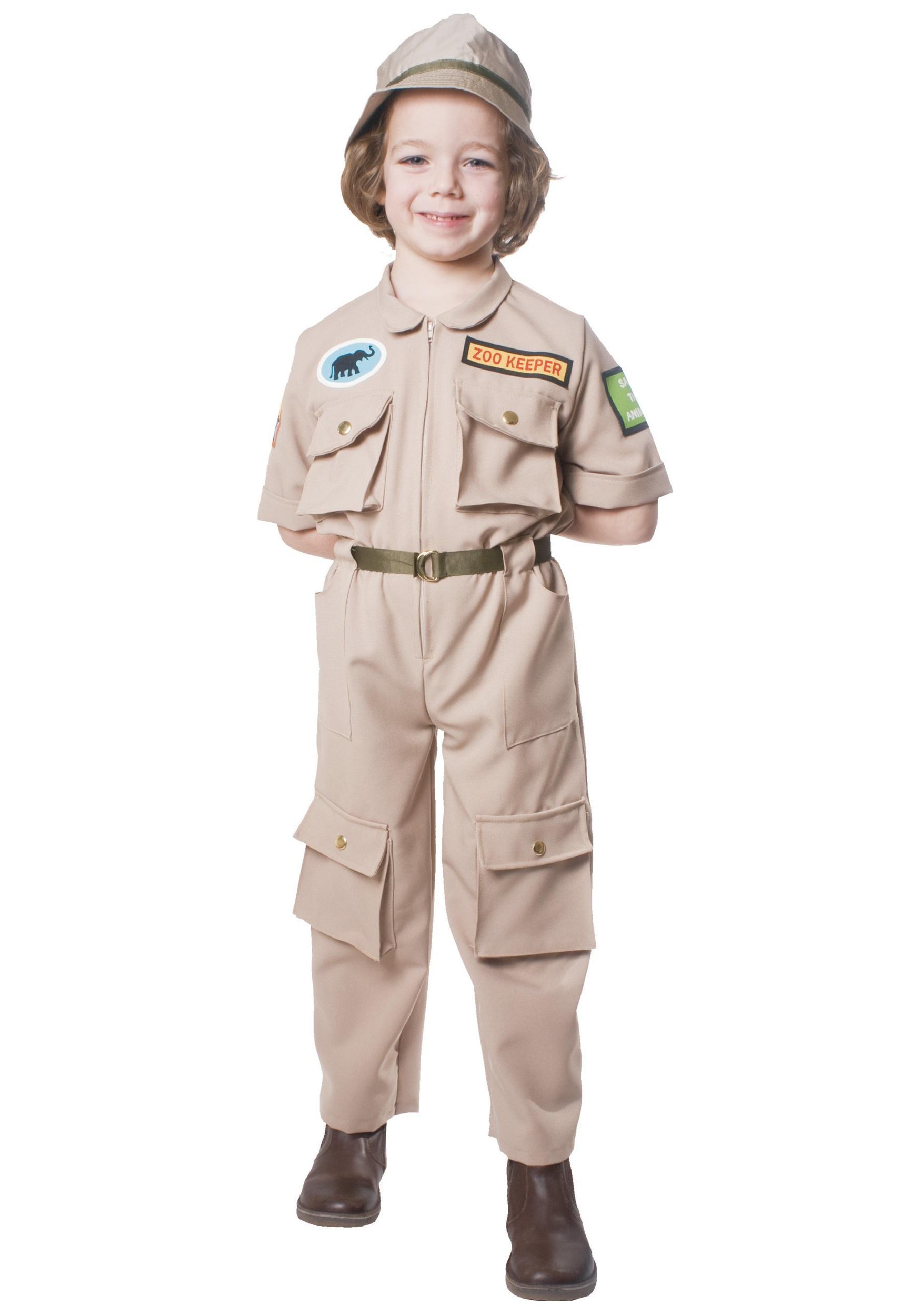 Child Zoo Keeper Costume