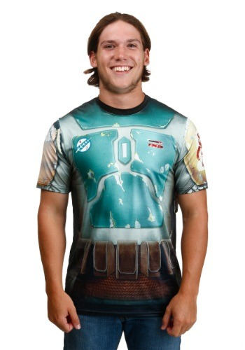 Star Wars Boba Attire Sublimated Costume T-Shirt By: Mad Engine for the 2015 Costume season.