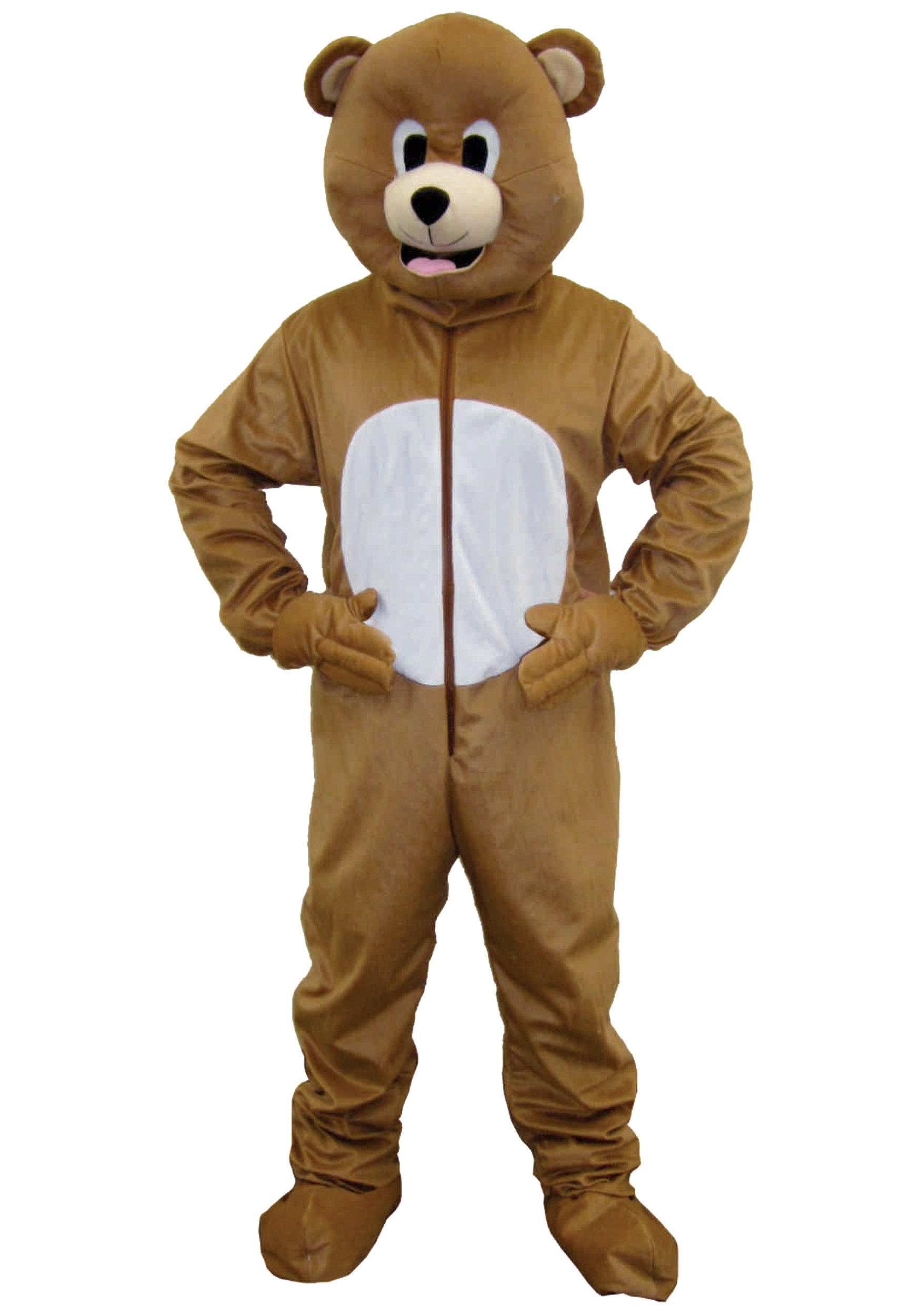 Brown Bear Mascot Costume