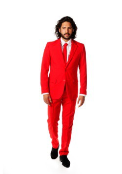 Mens Opposuits Red Suit