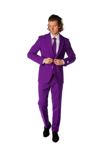 OppoSuits Purple Suit for Men