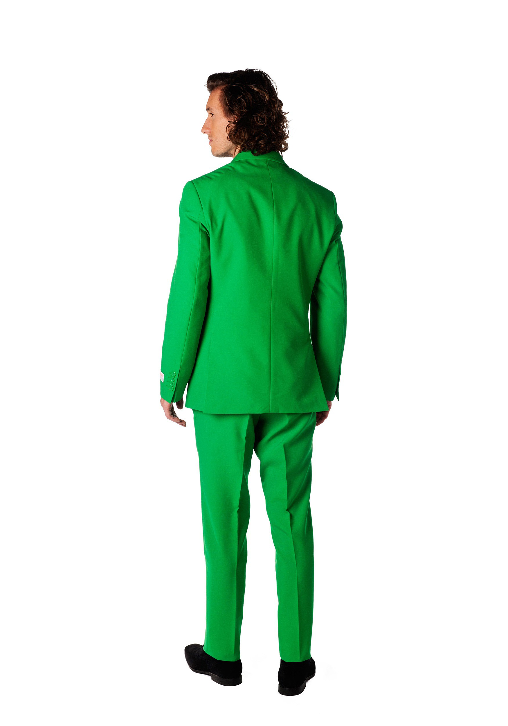 If you want to buy a green suit jacket and pants, you know exactly where to go now. Men who daydream about olive suit interview success can now breathe a sigh of relief. Our green suits for sale are of extraordinary quality. They're also kind on the budget.