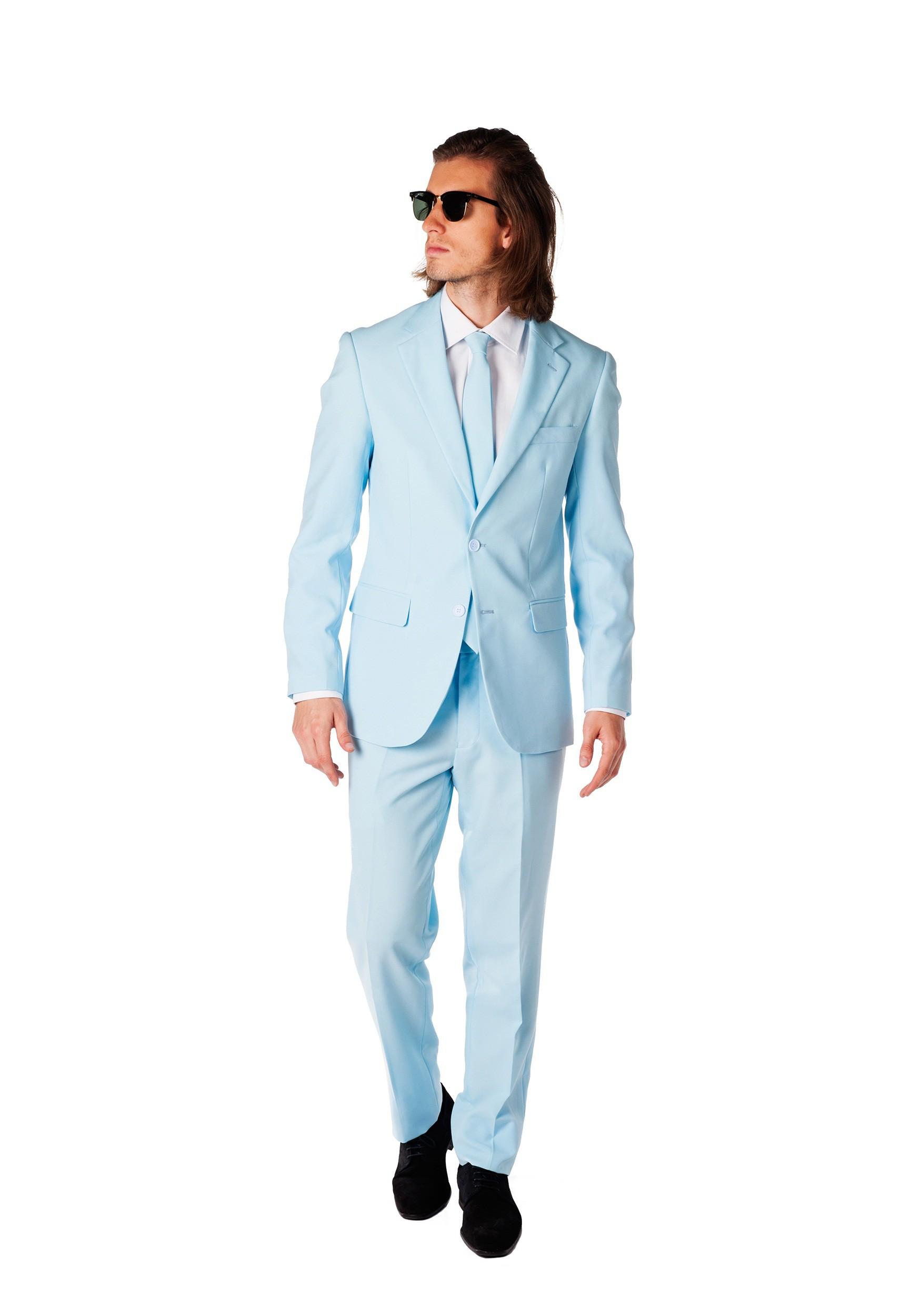 Men's OppoSuits Baby Blue Suit