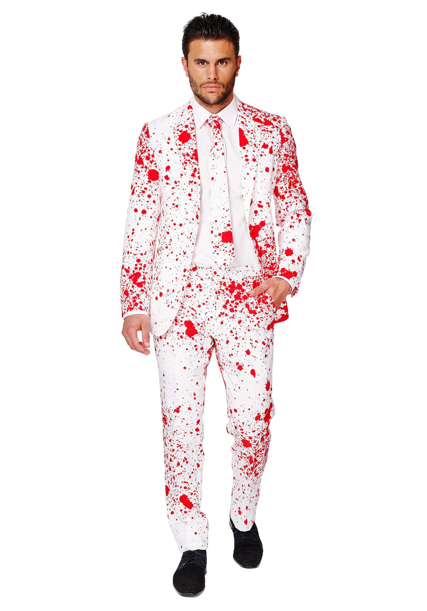 Zombie costumes walking dead costumes halloweencostumes mens opposuits bloody suit solutioingenieria Image collections